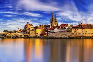 Arbeitsmarkt in Bayern, Regensburg Panorama Foto