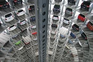 Dosieranlagen Automobil Industrie Produktion Foto