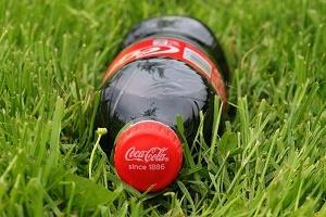 Marken Coca Cola Flasche Foto
