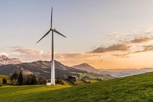 Energiewende Bild Windkraftwerk