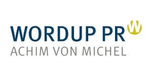 Logo WORDUP PR Agentur München