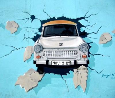 Mittelstand Ostdeutschland Foto Berliner Mauer