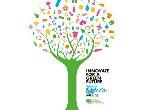 Welttag des geistigen Eigentums Logo Foto