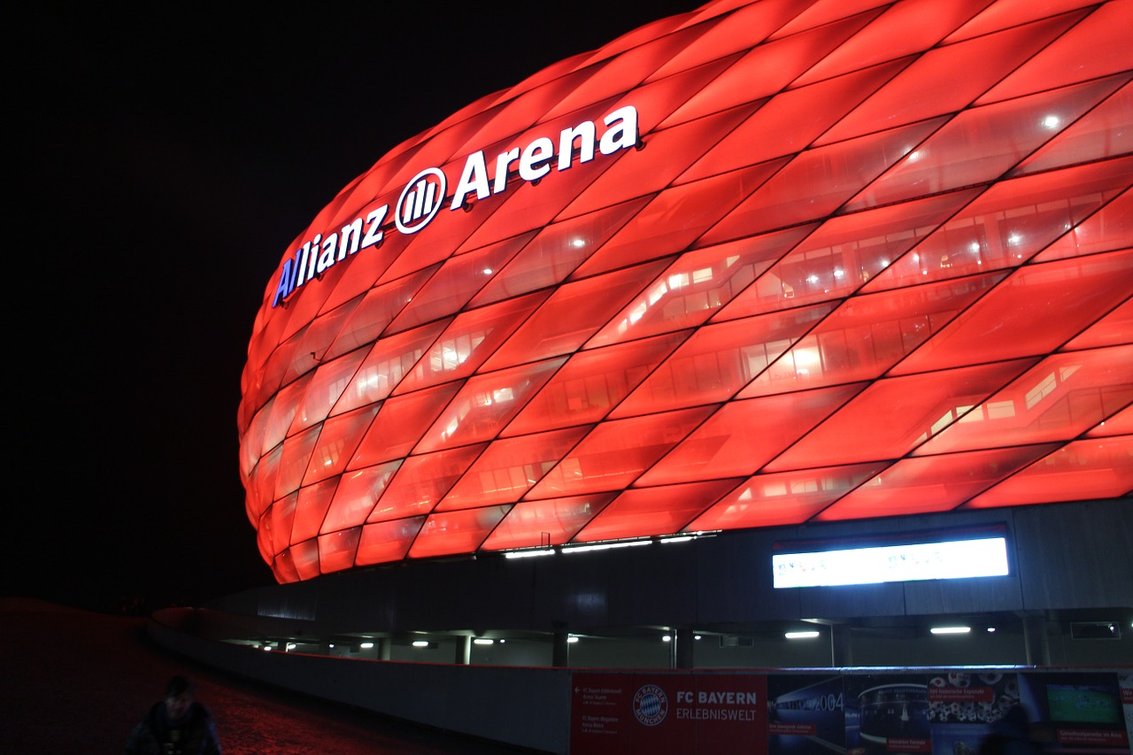 Bundesliga Allianz Arena Foto