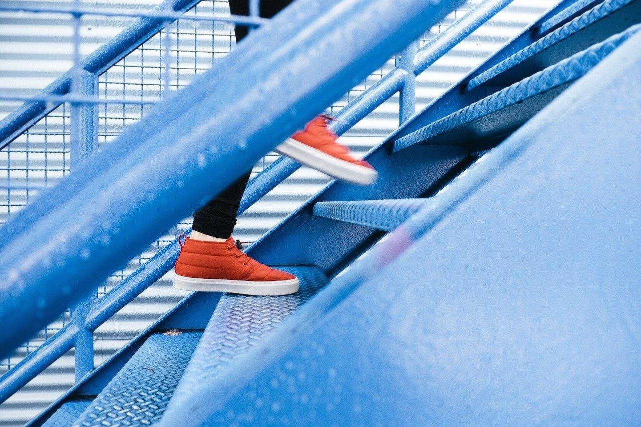 stufenplan treppe foto