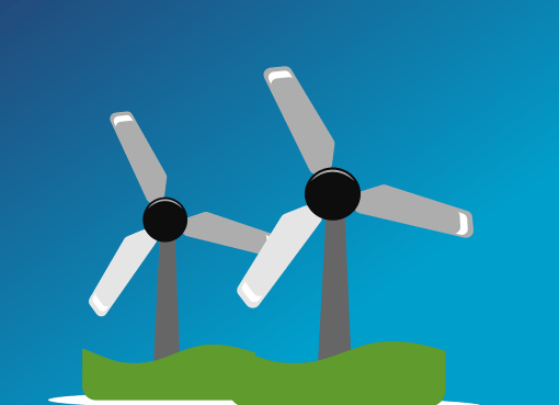 Energie Start-up Bayern 2020 Foto Windrad