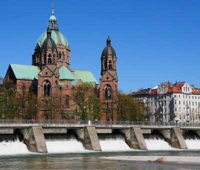 Isar München Wasserkraft