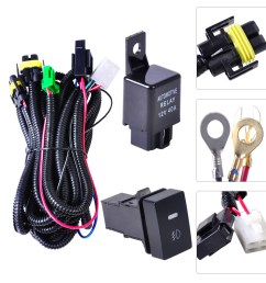 wiring harness sockets connector switch for h11 fog light lamp ford focus nissan ebay [ 1110 x 1110 Pixel ]