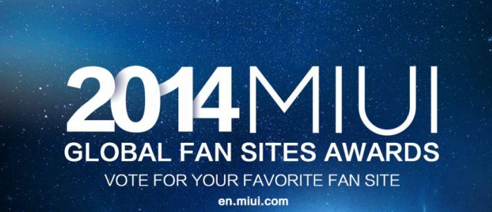 2014 MIUI Global Fan Sites Awards