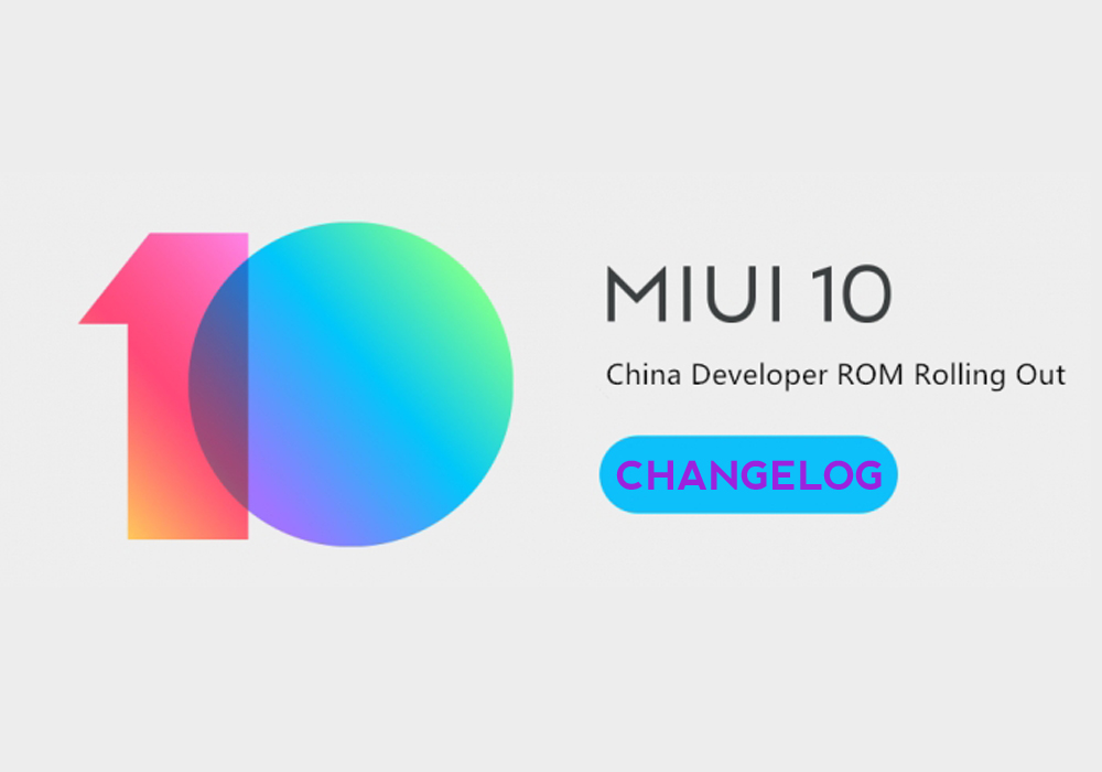 Rilasciata MIUI 9.1.17 China Developer, changelog integrale