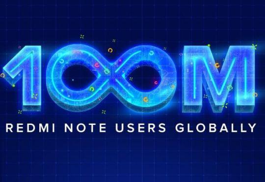 Redmi Note 100 milioni di vendite