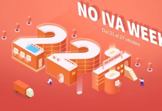 Xiaomi Italia NO IVA WEEK