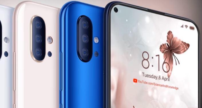 Xiaomi Mi 10 con Qualcomm Snapdragon 865 concept