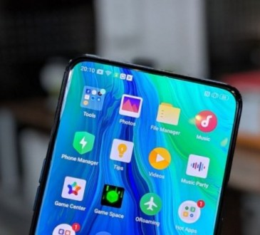 Xiaomi fotocamera in-display