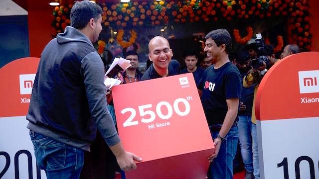 Xiaomi India 2500 Mi Store