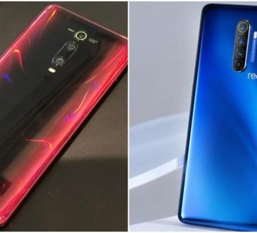 Xiaomi Mi 9T Pro vs Realme X2 Pro