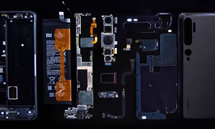 Xiaomi Mi Note 10 teardown