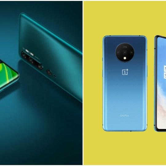 Xiaomi Mi Note 10 vs OnePlus 7T