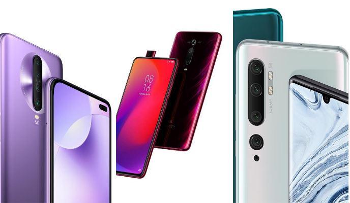 Redmi-K30-5G-vs-Xiaomi-Mi-9T-Pro-vs-Xiaomi-Mi-Note-10-Pro