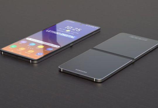 Samsung smartphone flessibile concept