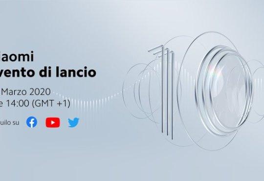 Xiaomi Mi 10 Pro presentazione europea