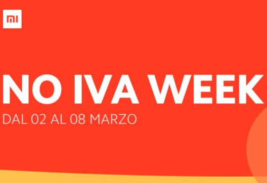 Xiaomi NO IVA WEEK
