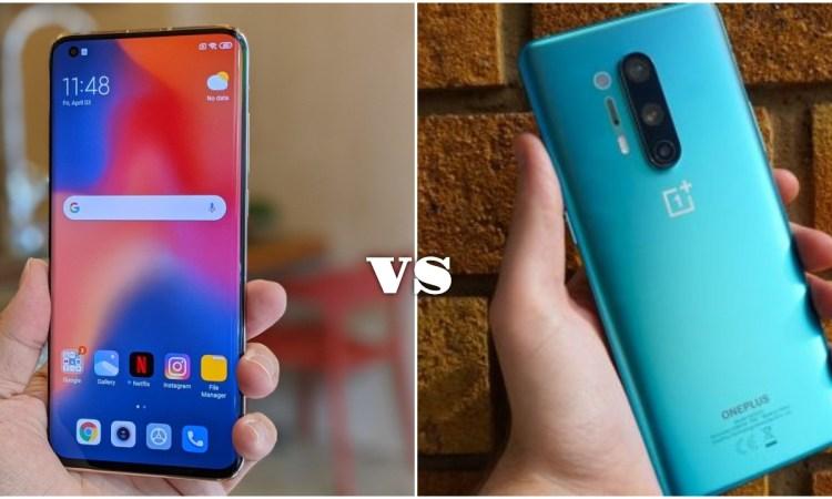 Xiaomi Mi 10 Pro vs OnePlus 8 Pro