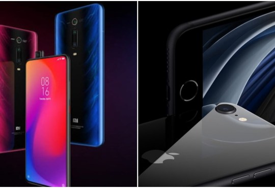 Xiaomi Mi 9T Pro vs iPhone SE 2020