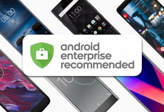 Redmi Note 9 Pro Android Enterprise Recommended