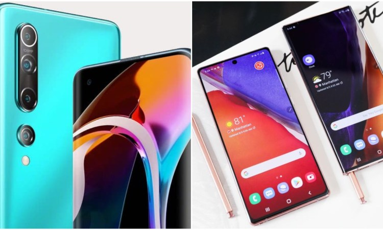 Xiaomi Mi 10 Pro vs Samsung Galaxy Note 20 Ultra
