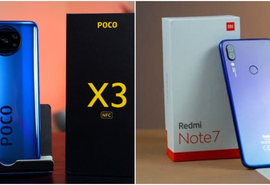 POCO X3 NFC vs Redmi Note 7