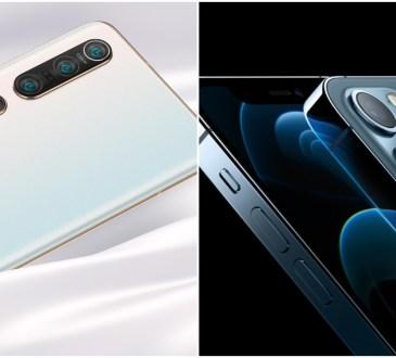Xiaomi Mi 10 Pro vs iPhone 12 Pro Max (1)