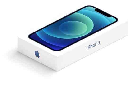 iPhone 12 confezione vendita