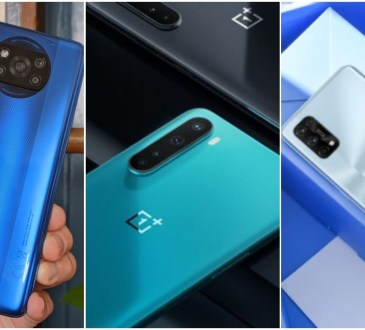 POCO X3 NFC vs OnePlus Nord N10 5G vs Realme 7 Pro