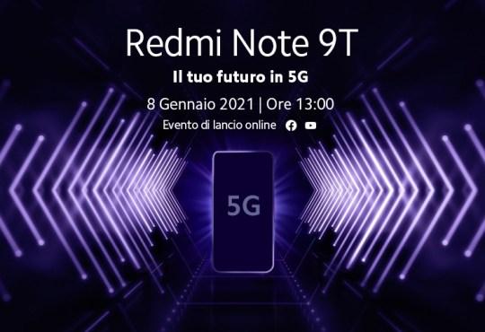 Redmi Note 9T annuncio (1)