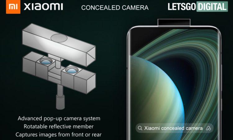 Xiaomi fotocamera pop-up con specchio