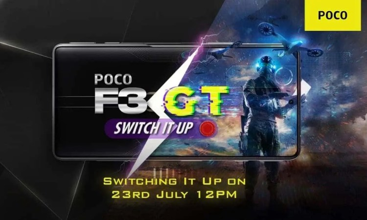 POCO F3 GT presentazione