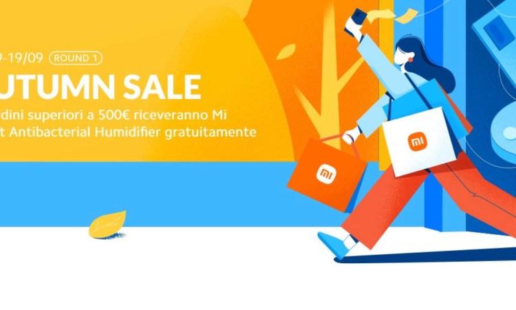 Offerte Xiaomi Autunno 19 settembre