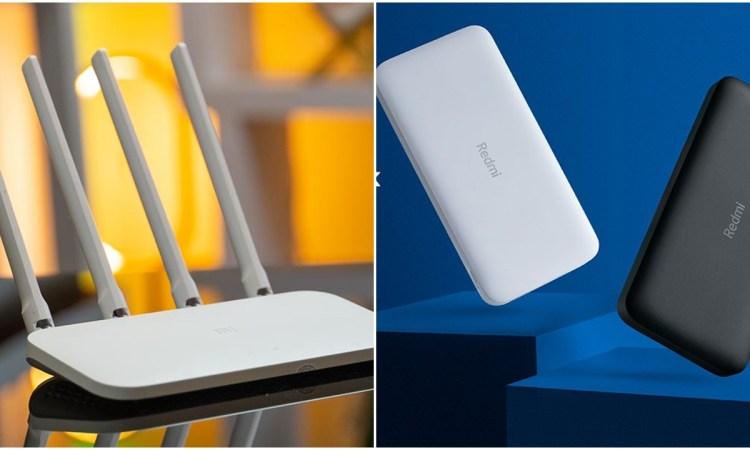 Xiaomi Mi Router 4C White e 10000mAh Redmi Power Bank
