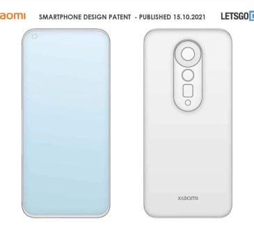 Brevetto design smartphone Xiaomi