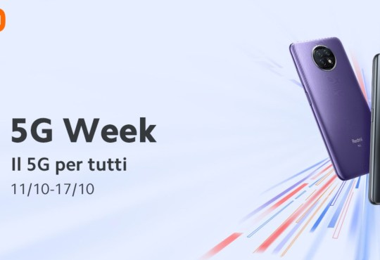 Offerte Xiaomi 5G Week