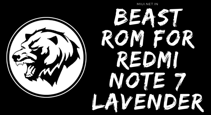 beast custom rom for redmi note 7