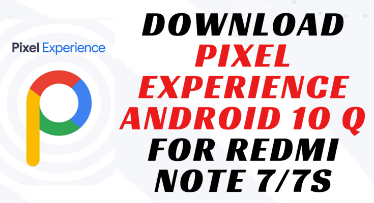 pe android q for redmi note 7