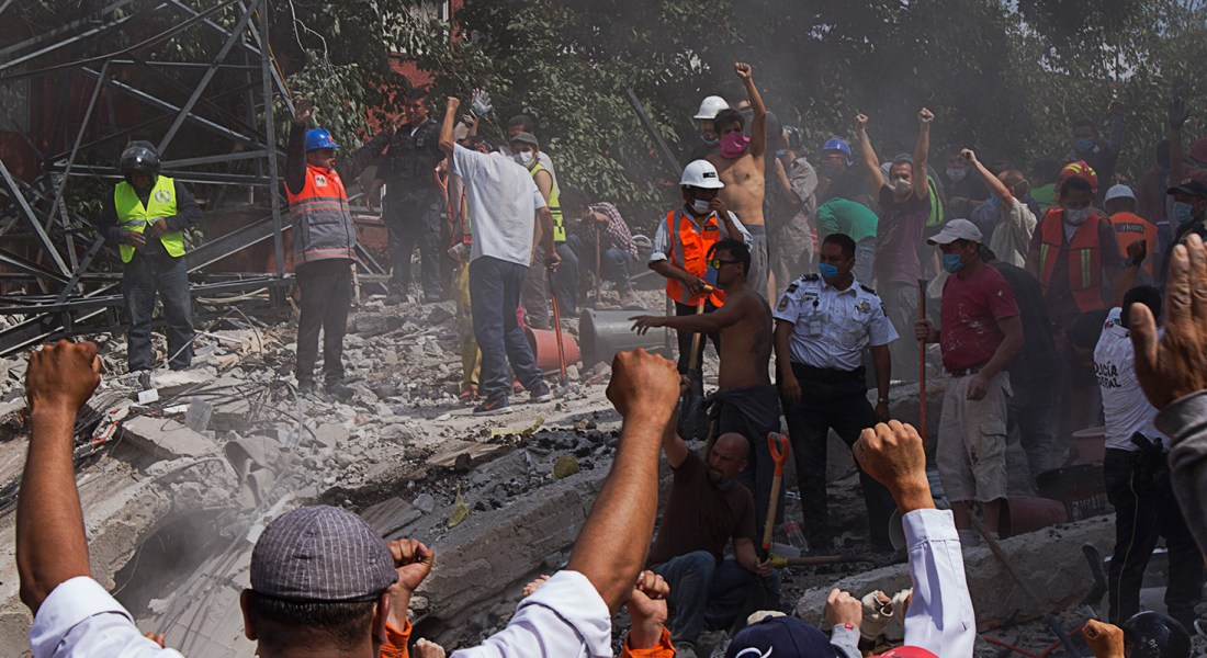 Las paredes gritan:  México… 125 de 137… en corrupción…. Fotografía de Sara Escobar