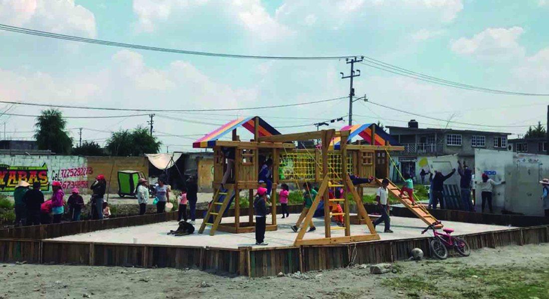 Recuperando espacios públicos para mejorar nuestras ciudades: acceso a vivienda y hábitat digno. Fotografía de Aarón Baz