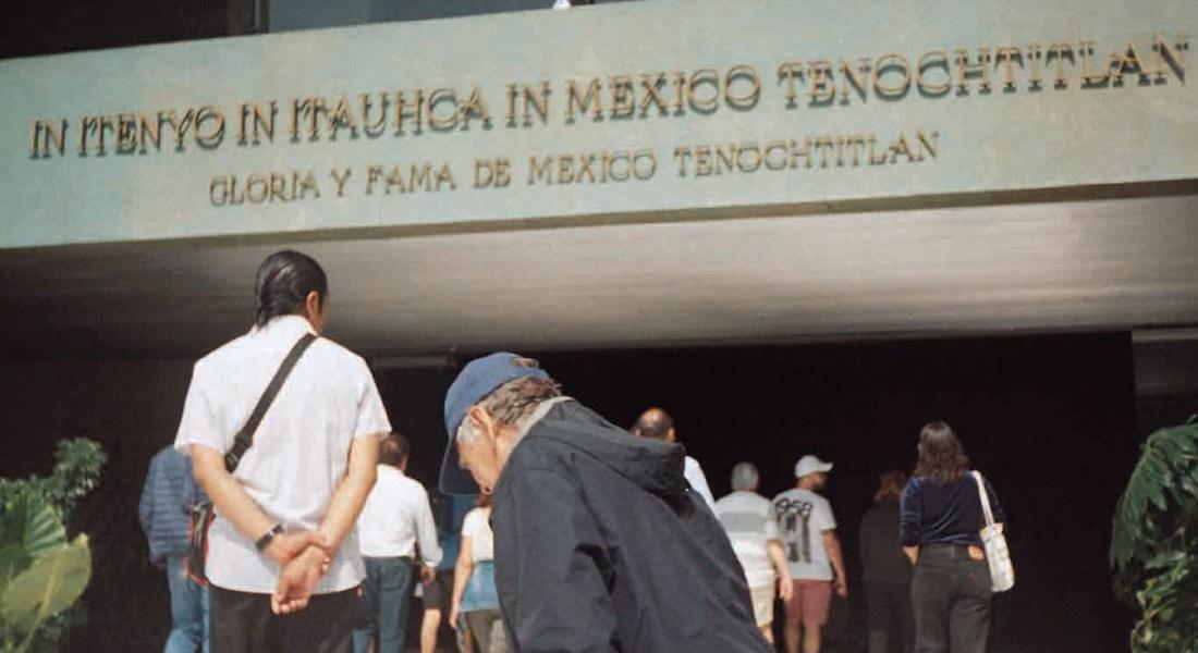 La gran Tenochtitlán: Un recorrido al Museo de Antropología