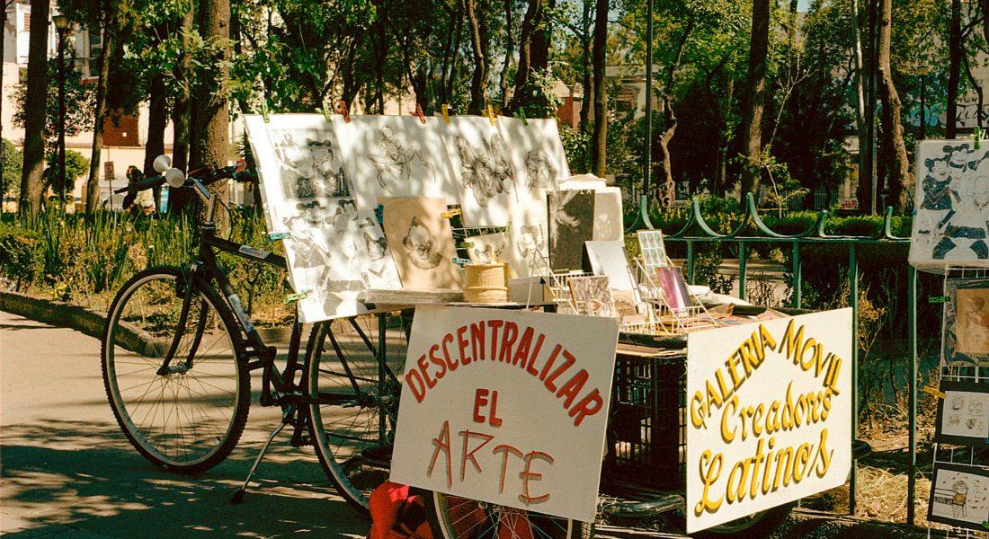 Creadores latinos, una galería movil que busca descentralizar el arte