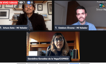 Presentación de informe de actividades 2020 de Mi Valedor con Geraldina González de COPRED