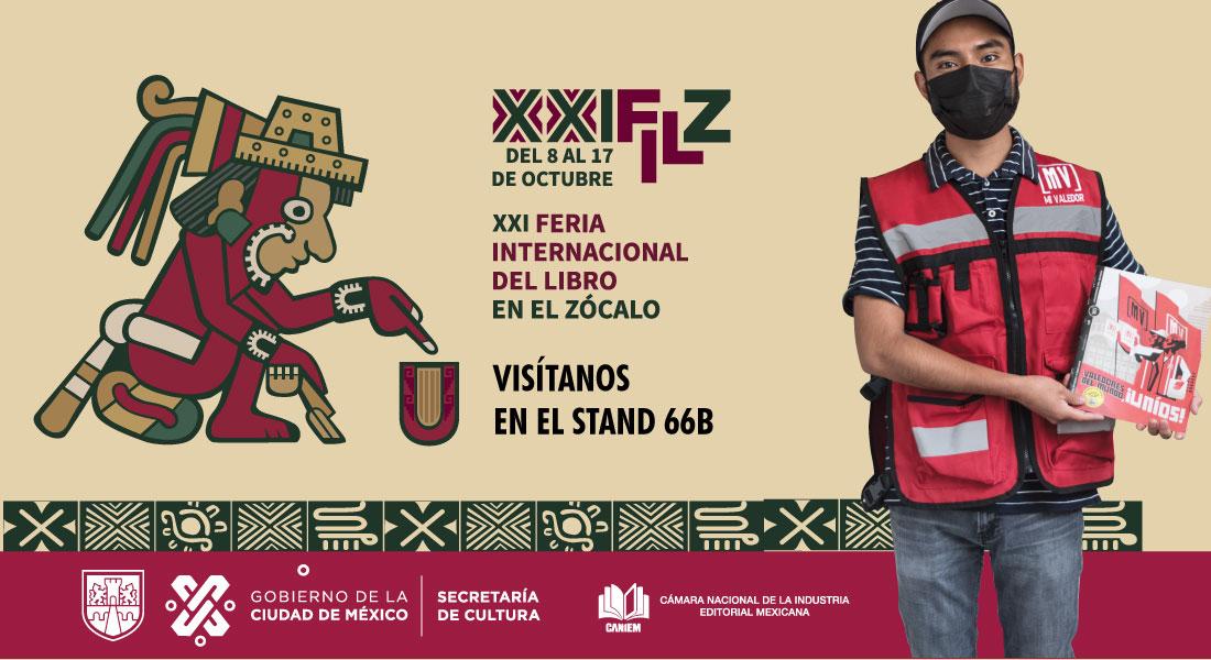Mi Valedor presente en la Feria Internacional del Libro FIL Zócalo 2021