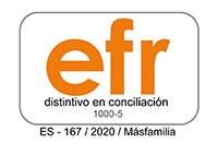 Organización Comprometida con la conciliación familiar. Certificado C+